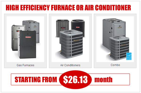 Best price for furnace heating system toronto demark home for The best heating system for home