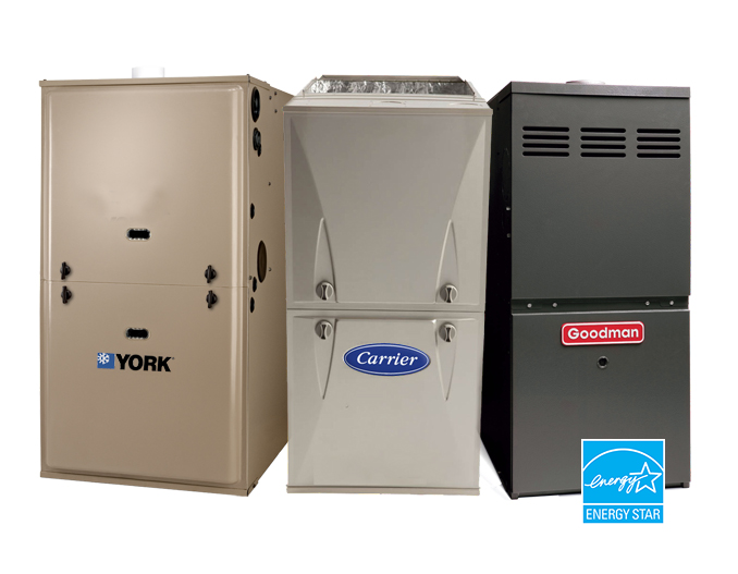 Gas furnace types