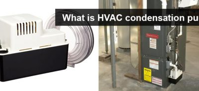 HVAC condensation pump