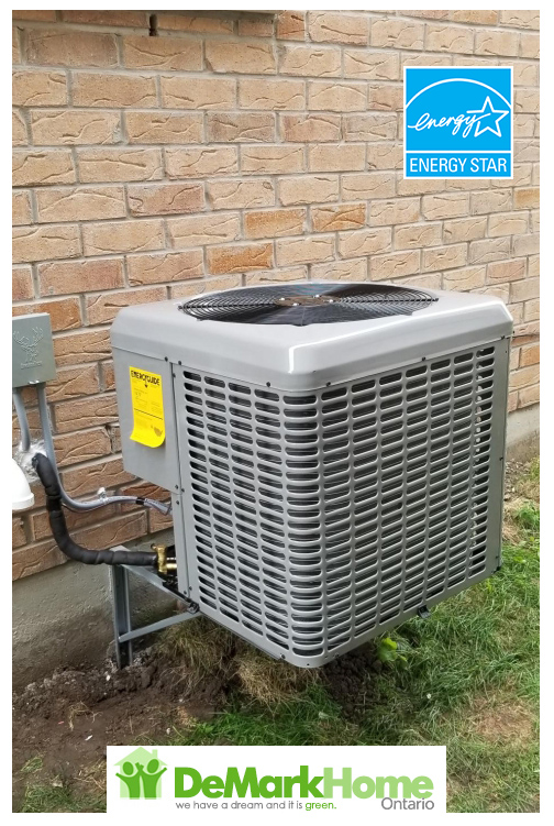 central air conditioner installed welland ontario