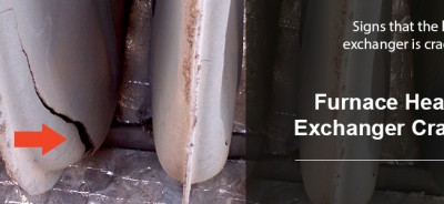 heat exchanger crack