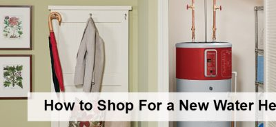shop for new water heater