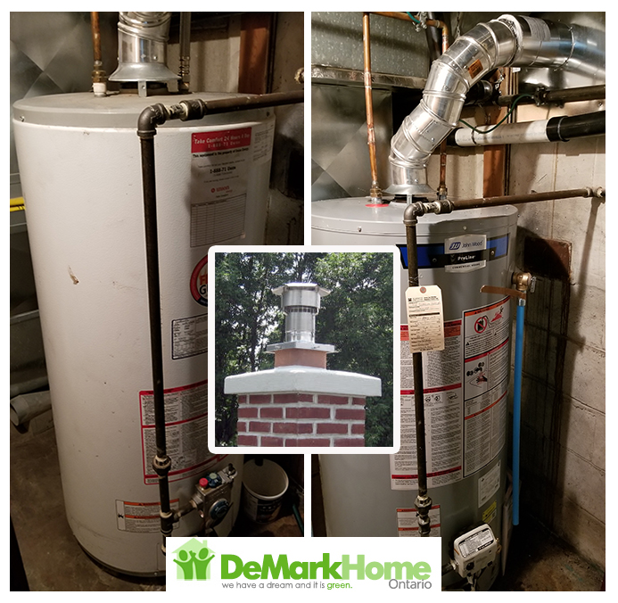 water heater chimney liner installed toronto